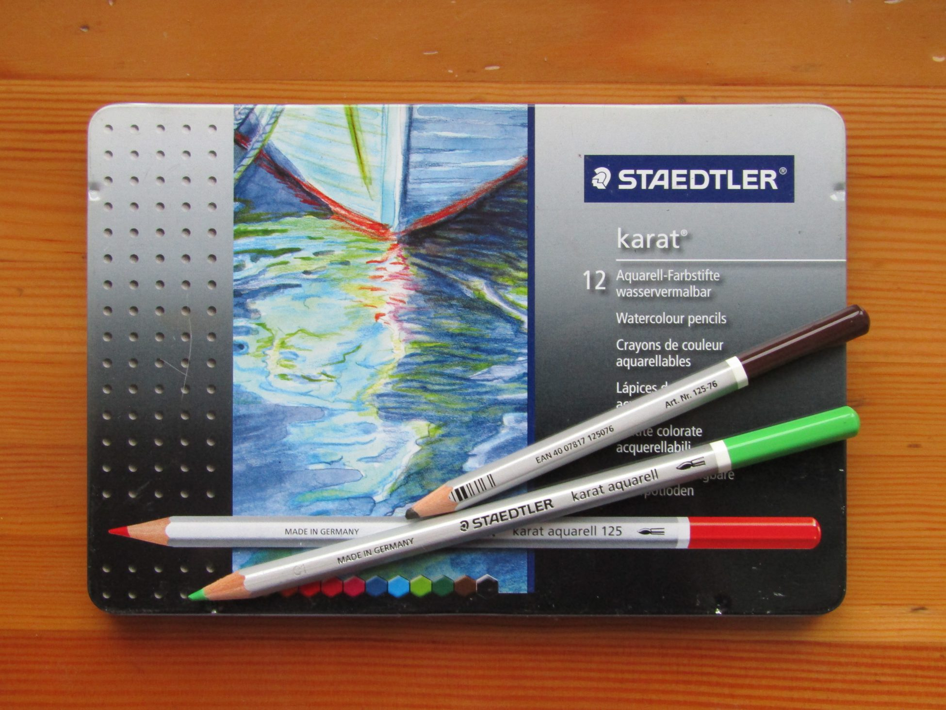 Professional Watercolor Pencils Staedtler Karat: the Main Features