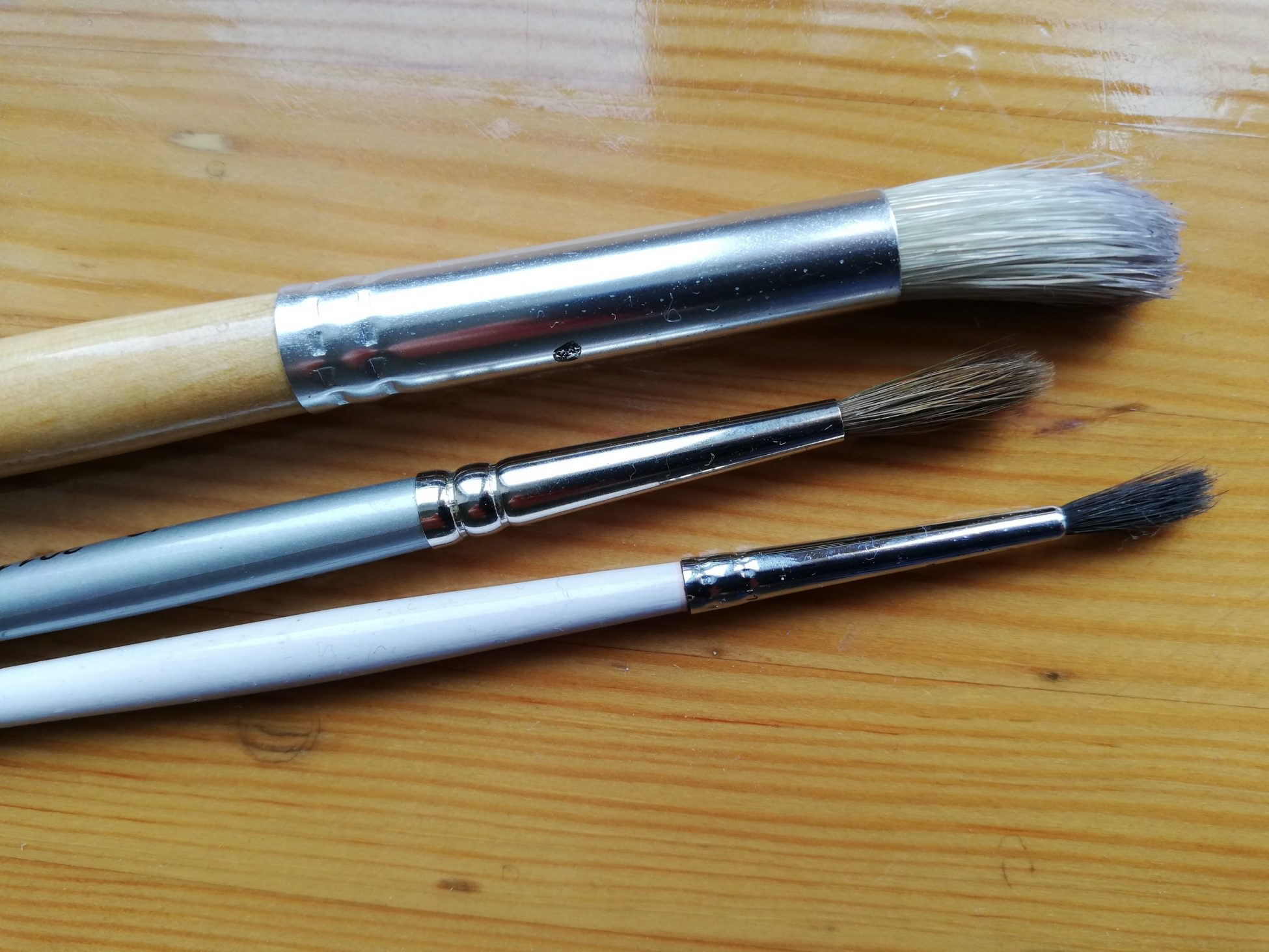 Natural Brushes for Artists: Hair Types