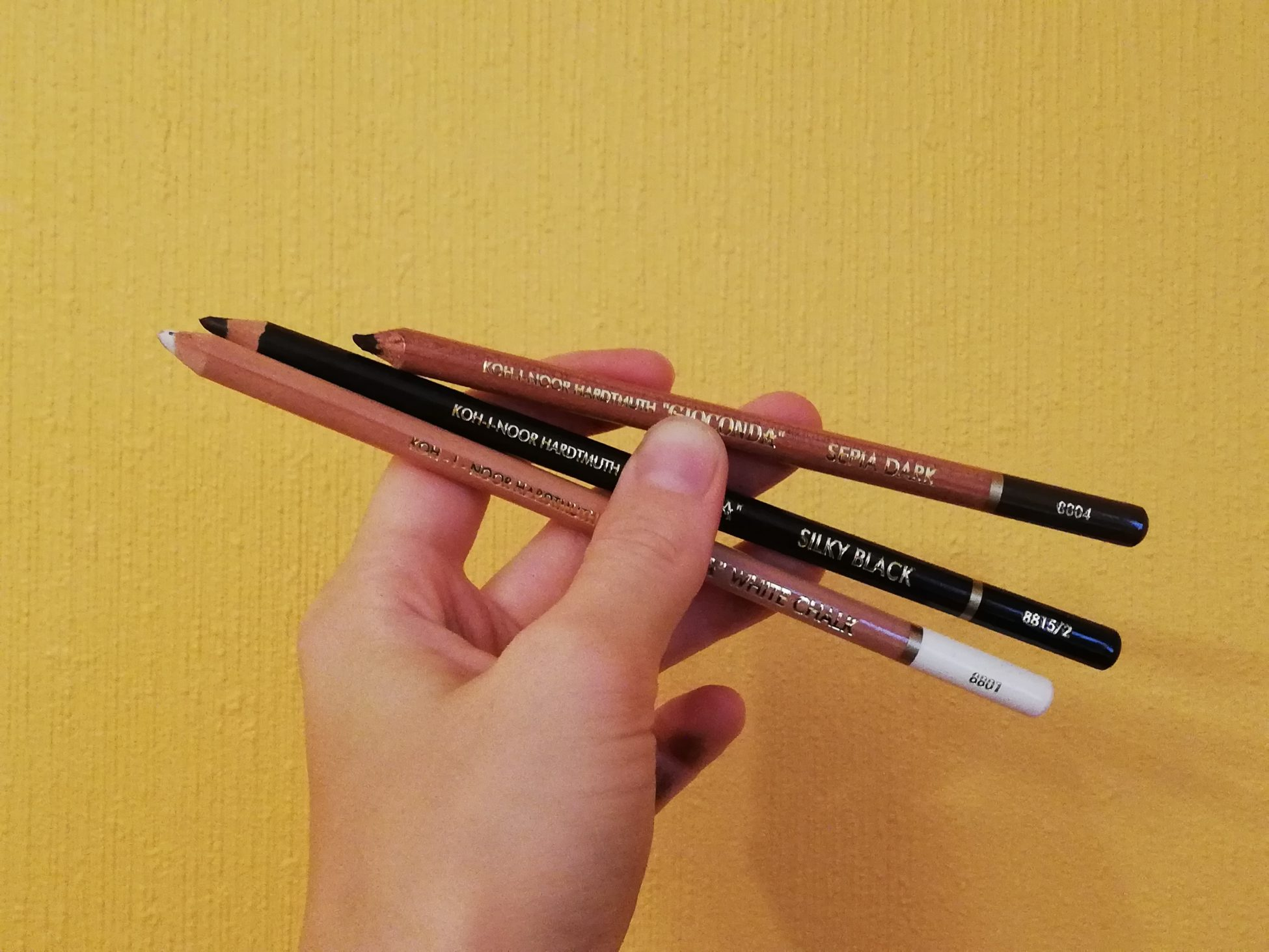 Special Artist's Pencils Koh-I-Noor Gioconda: How Good Are They?