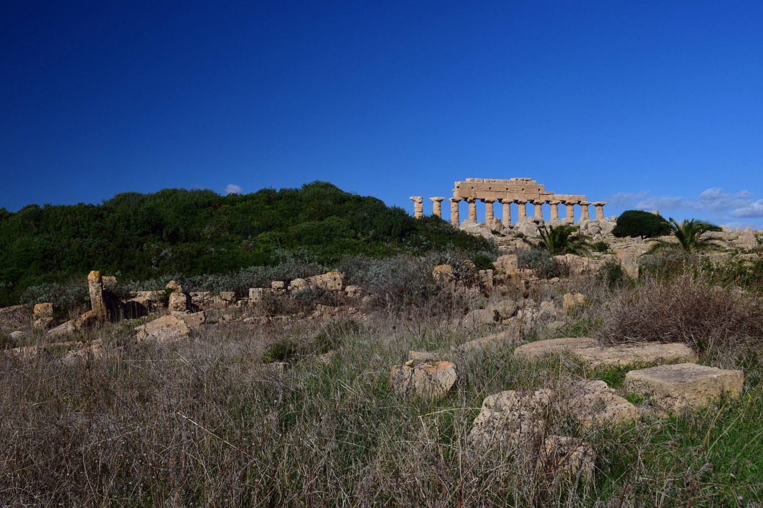 Beautiful ruins in Greece