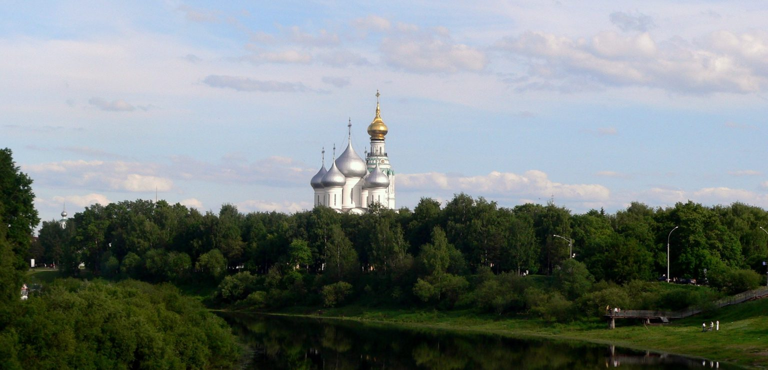 A view from the Vologda river