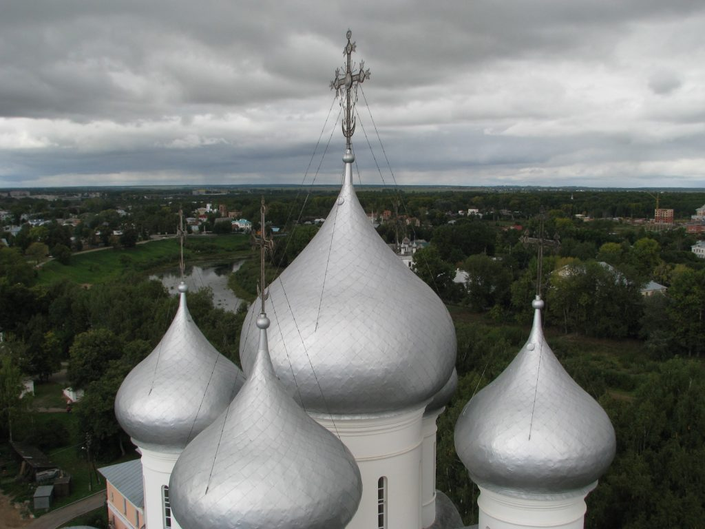 The domes of the cathedral
