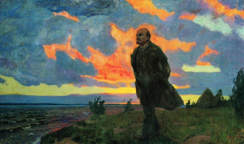 Lenin in Razliv