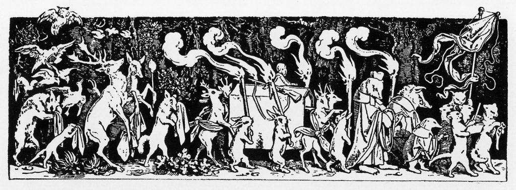 The woodcut by Moritz von Schwind