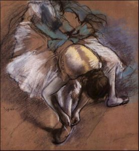 a work by Degas